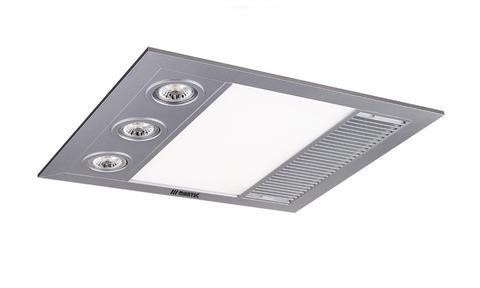 Linea Mini Bathroom 3 In 1 Exhaust Fan Heat Led Light